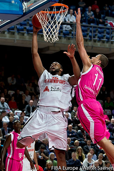 15. Jason Love (Antwerp Giants)